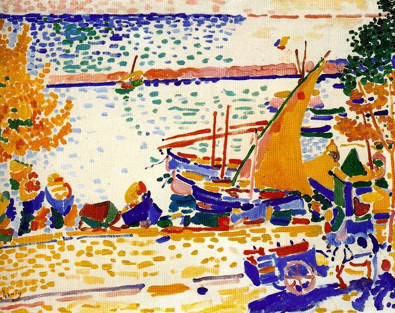 Andre Derain. The Port Of Collioure
