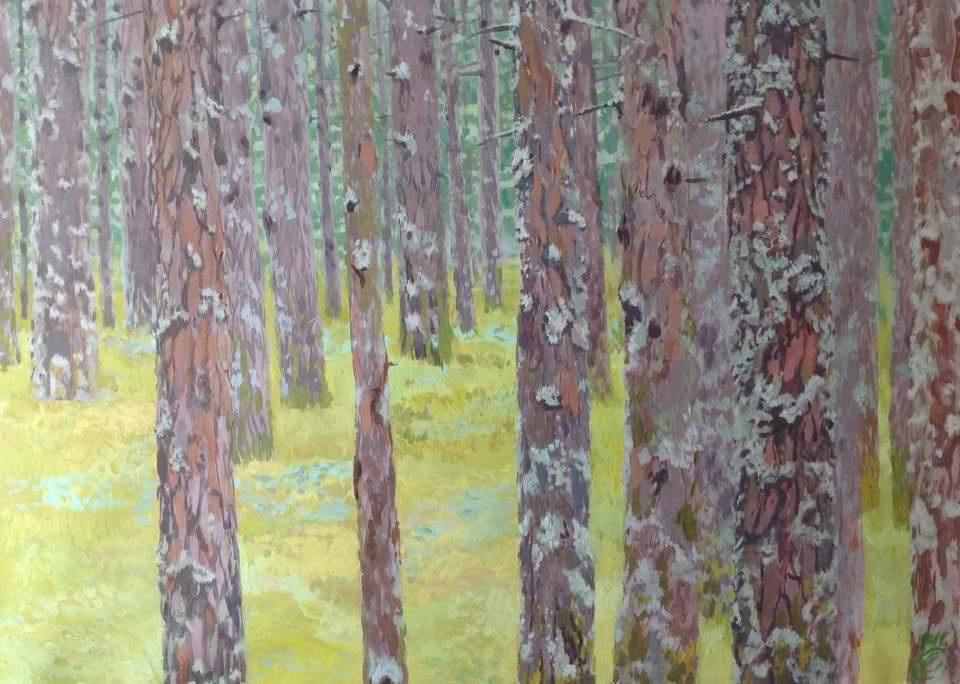 Elizabeth Mikhailovna Nabokova. Forest
