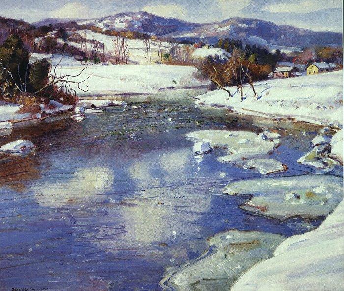 Джордж Гарднер Симонс. Зима