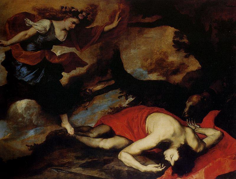Хосе де Рибера. Венера и Адонис