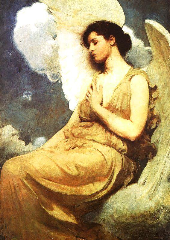 Abbot H. Thayer. Angel