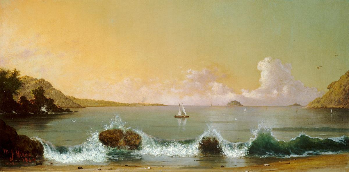 Мартин Джонсон Хед. Залив в Рио-де-Жанейро