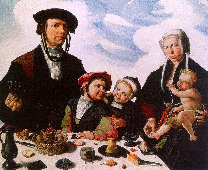 Мартен ван Хемскерк. Семья