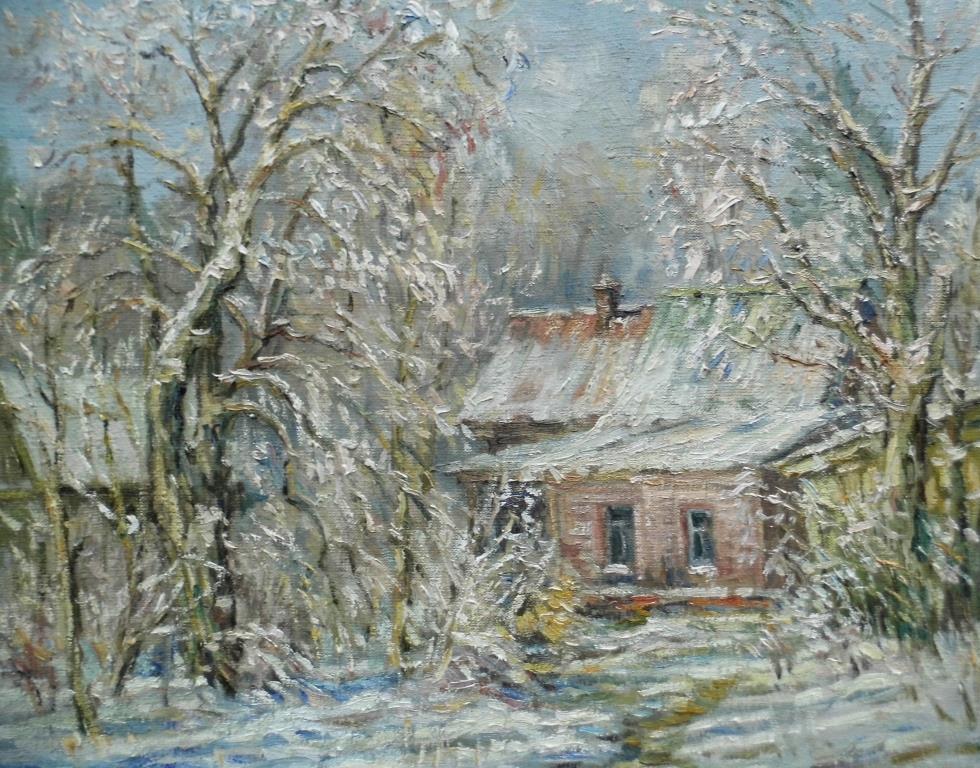 Victor Vladimirovich Kuryanov. Snow