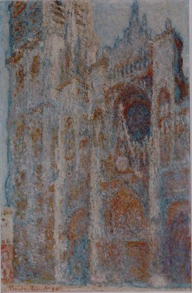 Claude Monet. The Rouen Cathedral at Noon