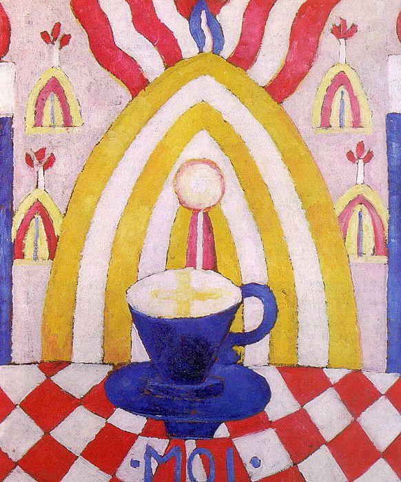 Marsden Hartley. Blue Cup