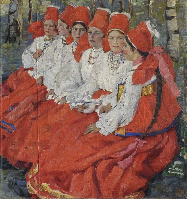 Elena Kiseleva. Bride. The day of Pentecost