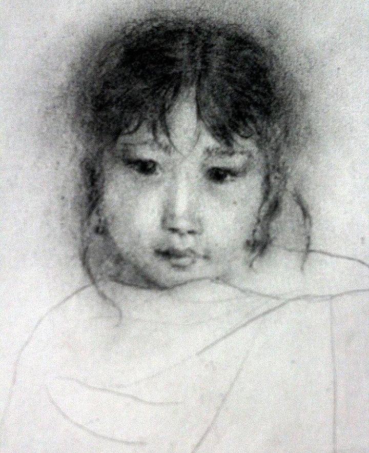 Evgeniya. Tibetan girl