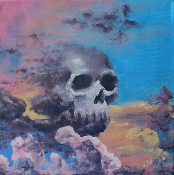 Svetlana Mikhailovna Ogarkova. Skull in the sky