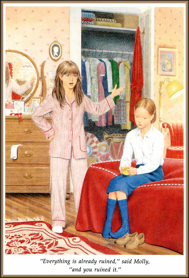 Ник Баскет. Американская девочка Молли. Четвертая книга о Молли 10