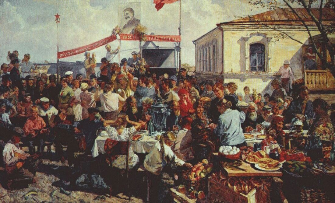 Аркадий Александрович Пластов. Колхозный фестиваль