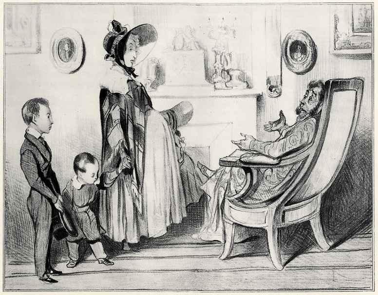 Honore Daumier. Tenants