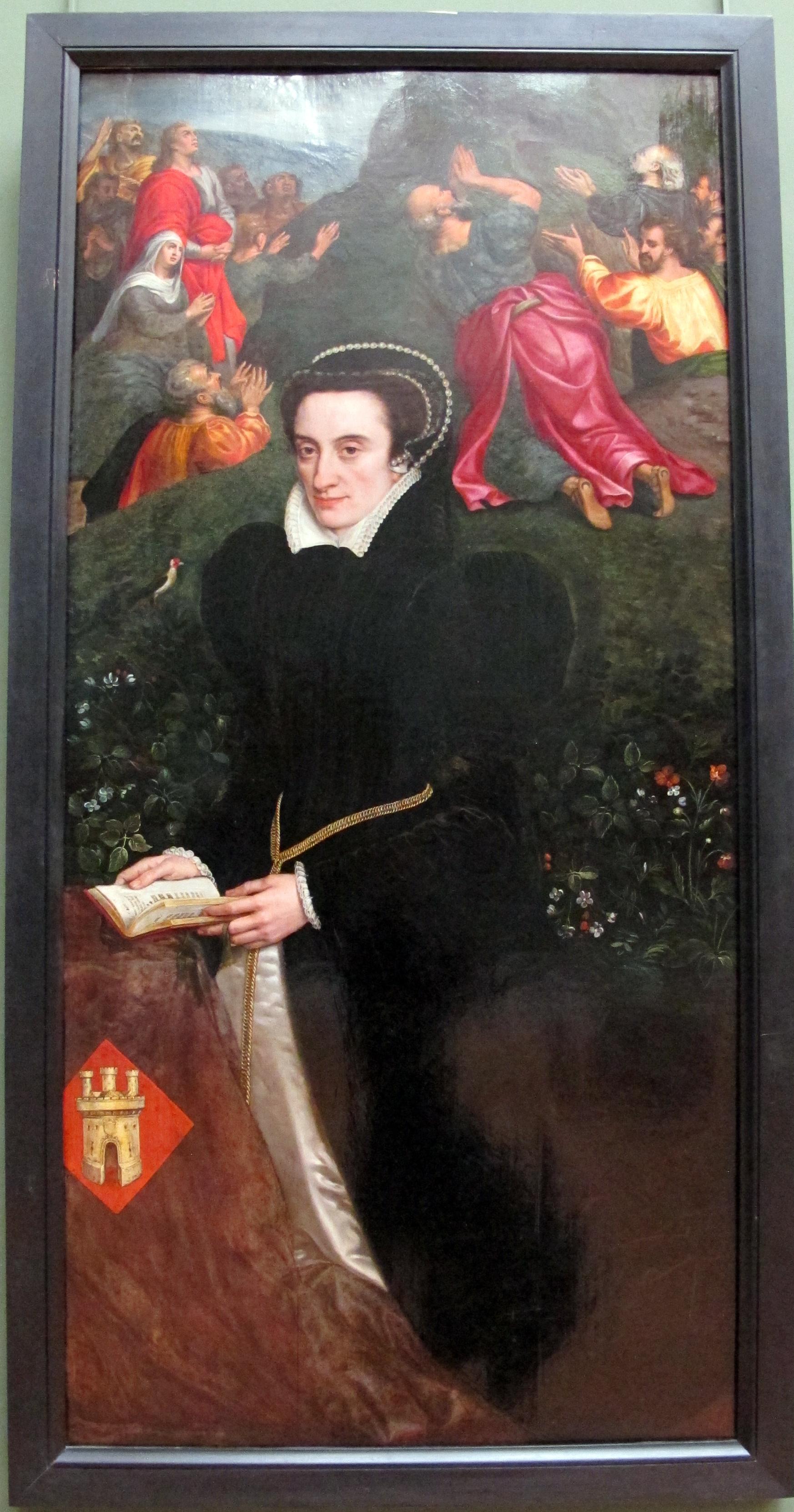 Leonor lópez de Villanueva, wife of Antonio del Rio