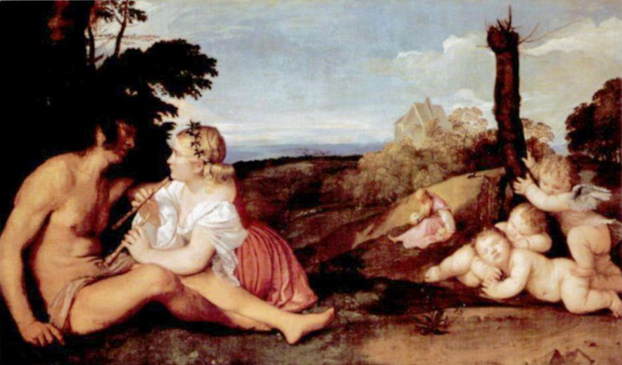 Тициан Вечеллио. Три возраста