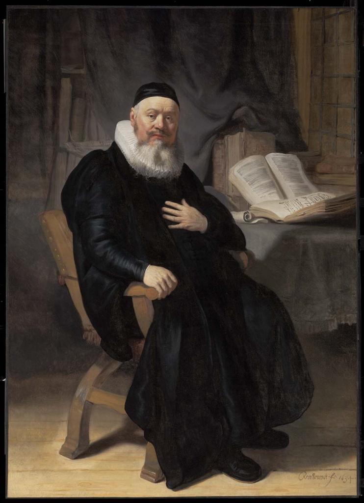 Rembrandt Harmenszoon van Rijn. Reverend Johannes Elison