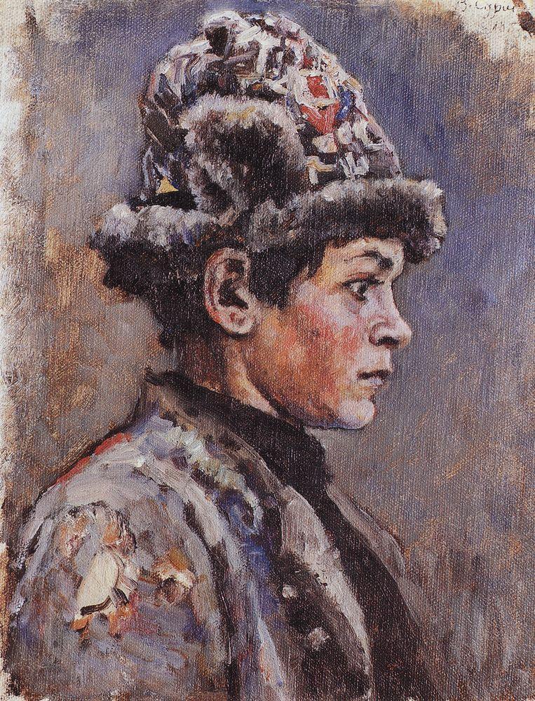 Василий Иванович Суриков. Задумавшийся подросток