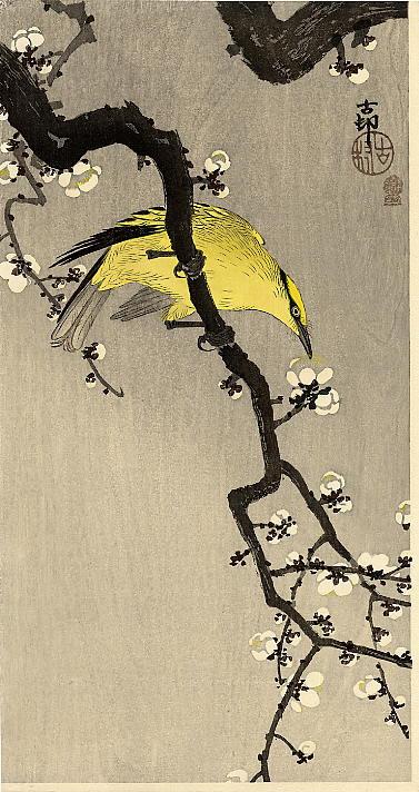 Охара Косон. Птицы 96