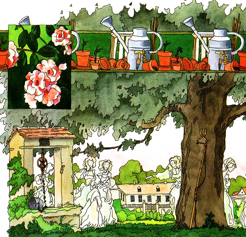 Клодин Сабатье. Сад
