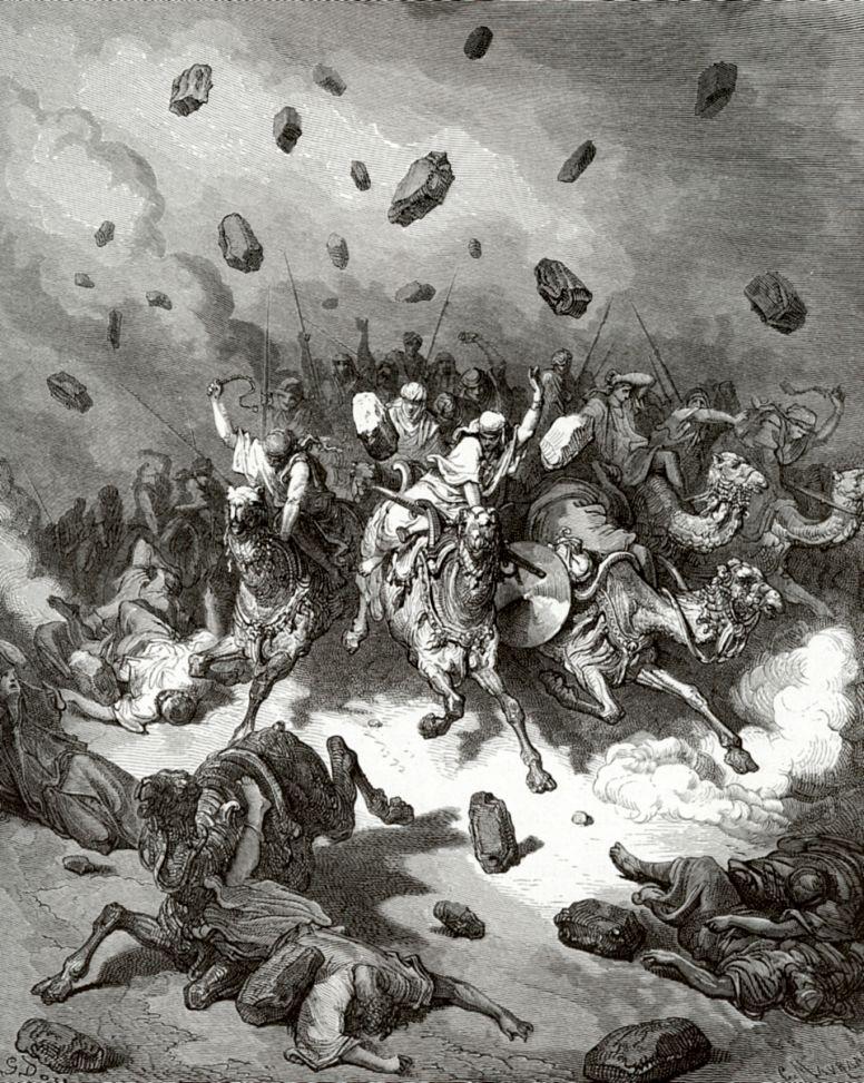 Поль Гюстав Доре. Поражение войска Аморрейского