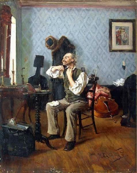 Николай Львович Скадовский. Перед концертом