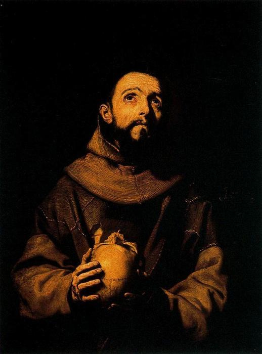 Jose de Ribera. SV. Francis Of Assisi