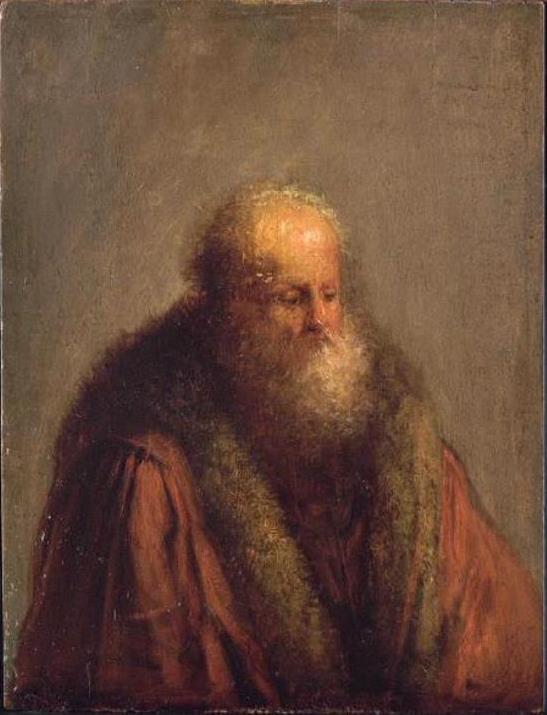 Ян Ливенс. Портрет старика в шубе