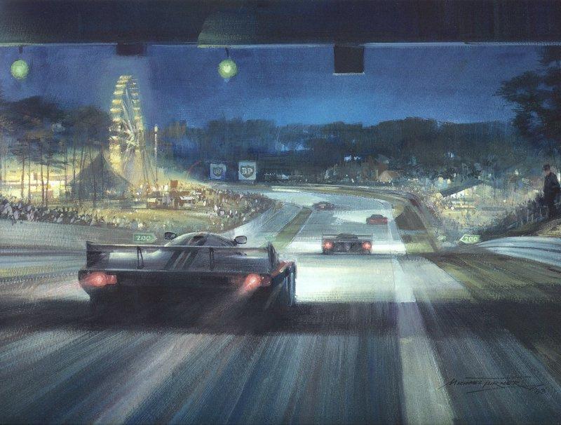 Рой Роб. Ночная гонка