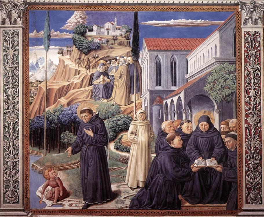 Беноццо Гоццоли. Молитвы