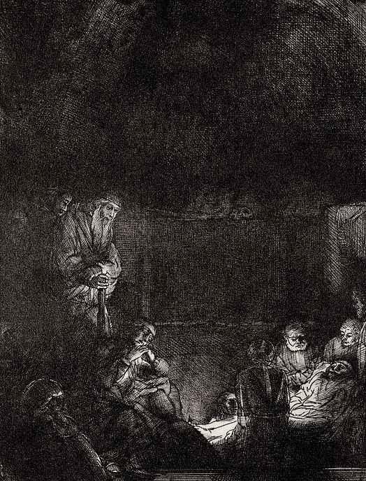 Рембрандт Ван Рейн. Положение во гроб