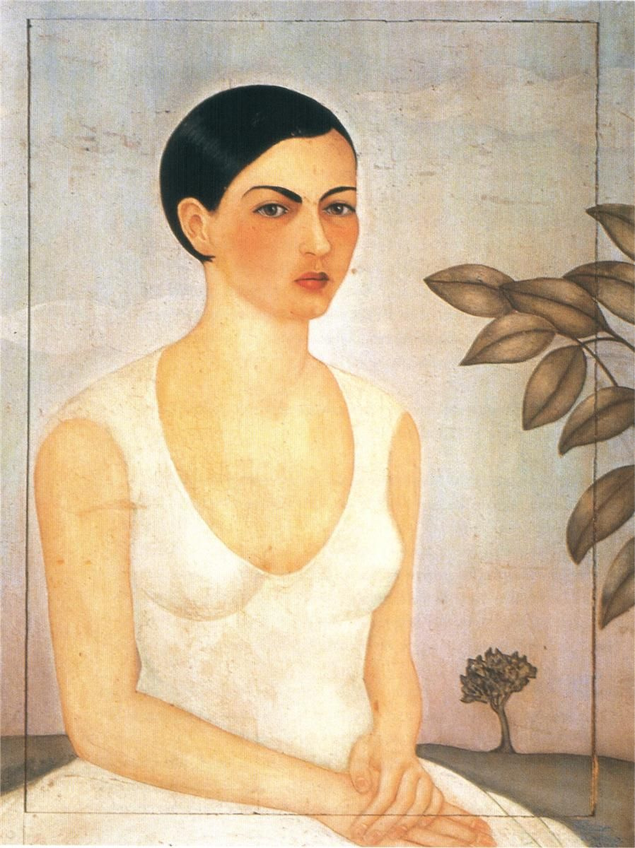 Frida Kahlo. Portrait of Christina my sister