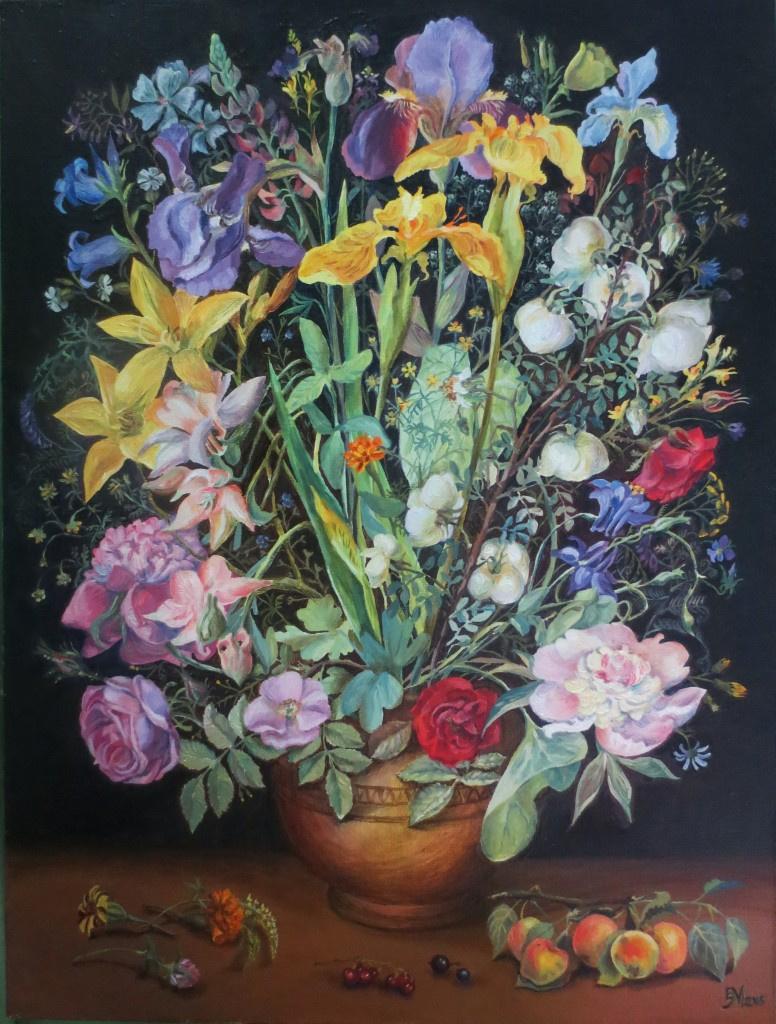 Elizaveta Genrikhovna Milogradov. Flowers of summer