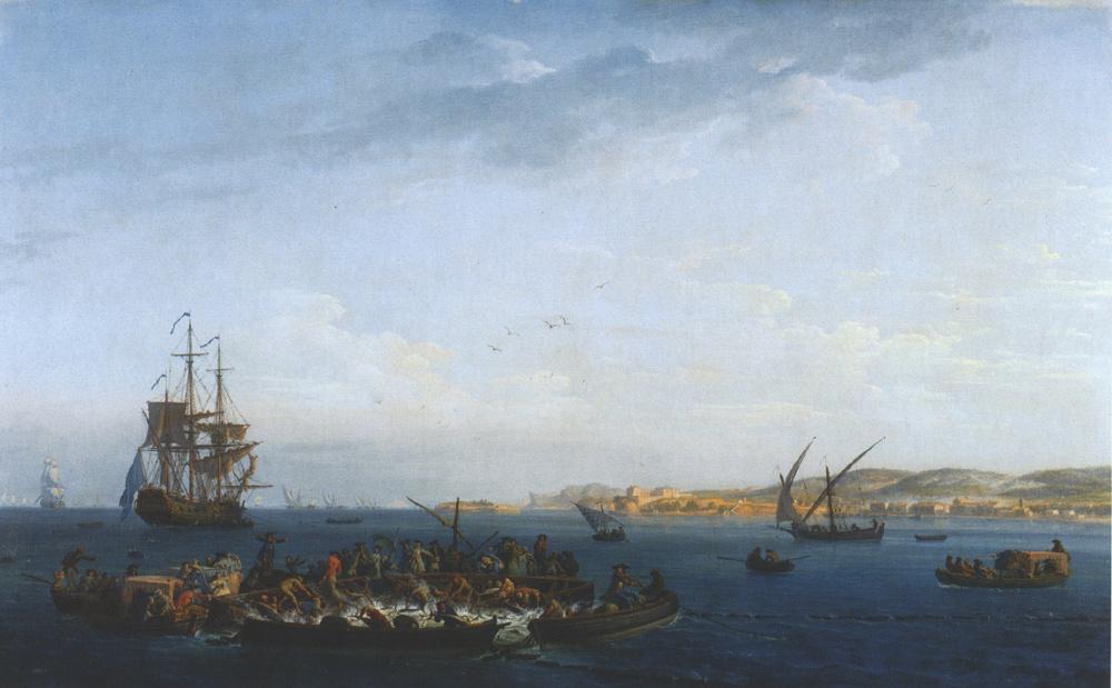 Клод Жозеф Верне. Корабль вдалеке