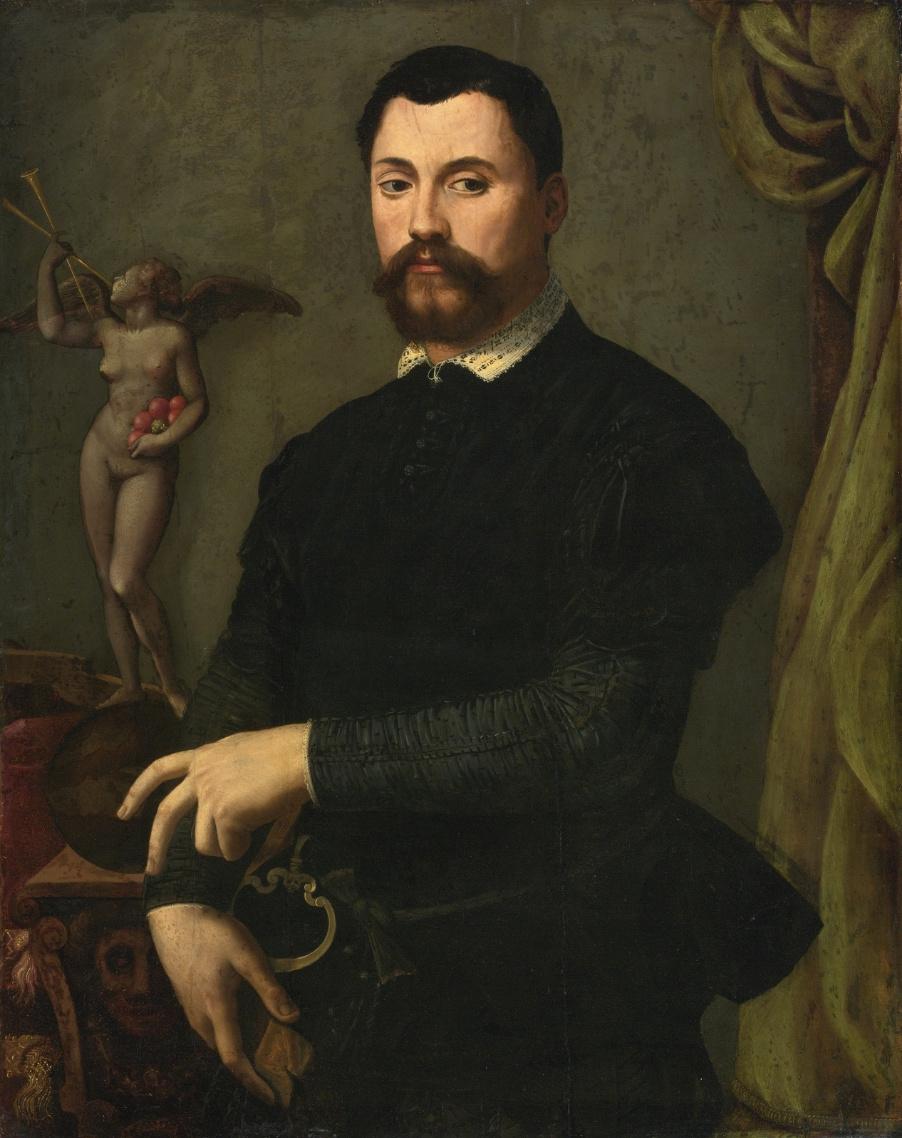 Alessandro Allori. Tomaso de Bardi. Private collection