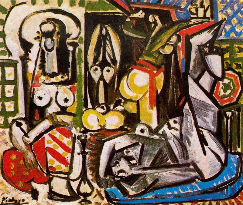 Пабло Пикассо. Алжирские женщины. Версия D