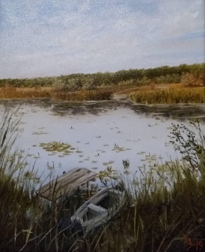 Сергей Николаевич Ходоренко-Затонский. Usmanka River