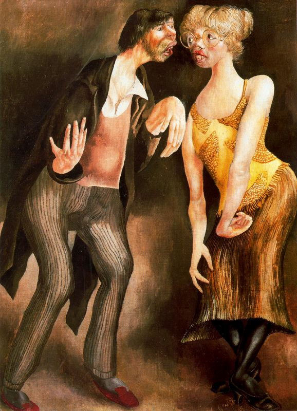 Stanley Spencer. Man and woman