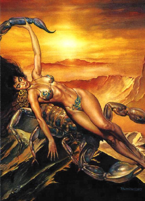 Сексуальность женщины скорпиона