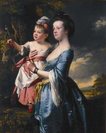 Райт Дерби. Мать с дочкой