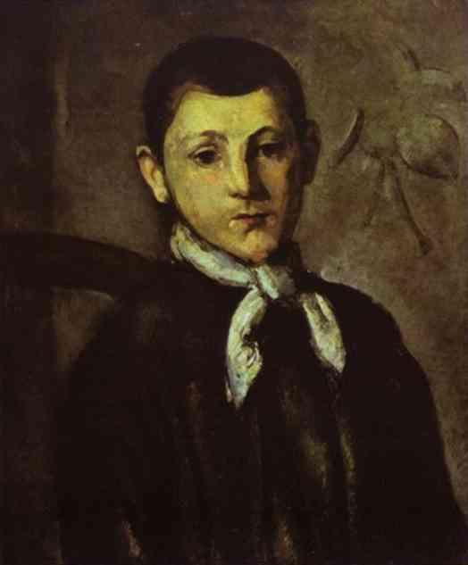 Paul Cezanne. Portrait Of Louis Guillaume.