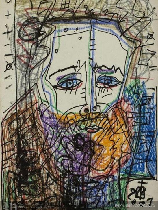 Kislitsyn. Self-portrait