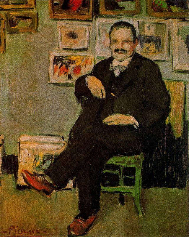 Пабло Пикассо. Портрет Гюстава Кокью