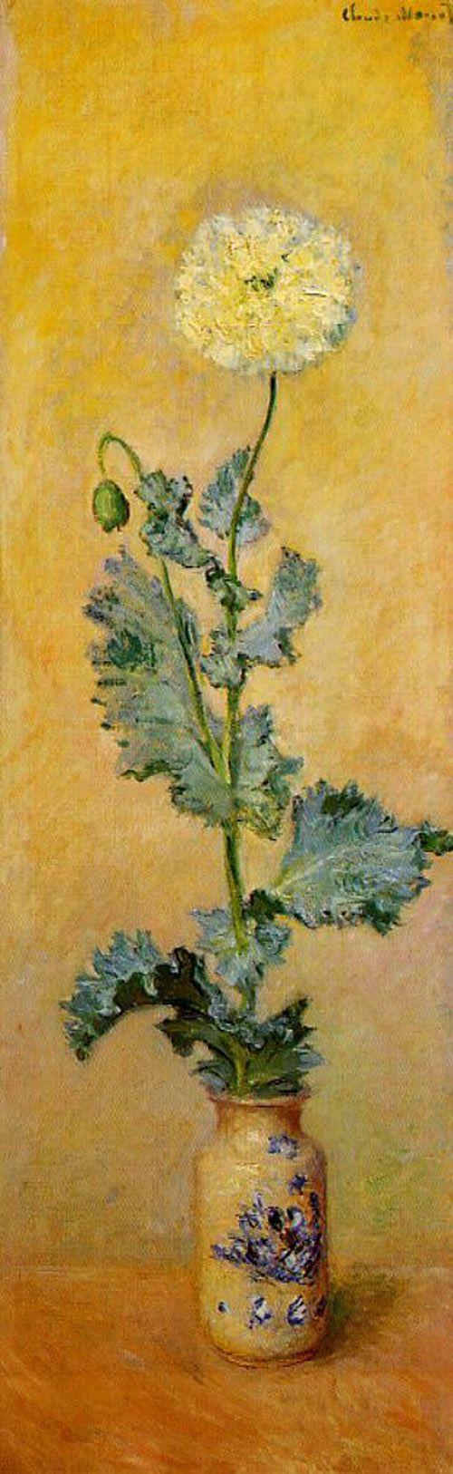 Claude Monet. White poppy