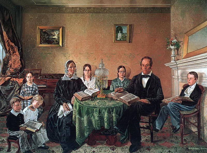 Генри Ф. Дарби. Семья