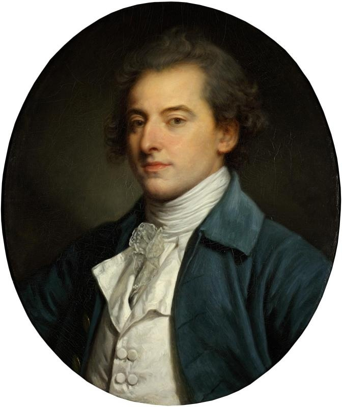 Jean-Baptiste Greuze. Portrait Of A. P. Shuvalov