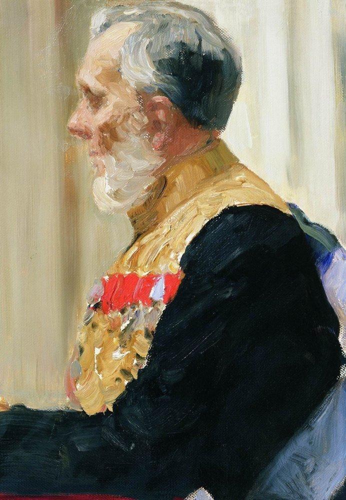 Илья Ефимович Репин. Портрет графа К. Н. Палена