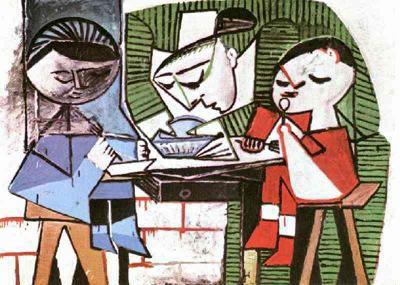Пабло Пикассо. Детское питание