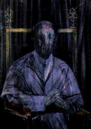 Фрэнсис Бэкон. Воображаемый портрет Папы Пия XII