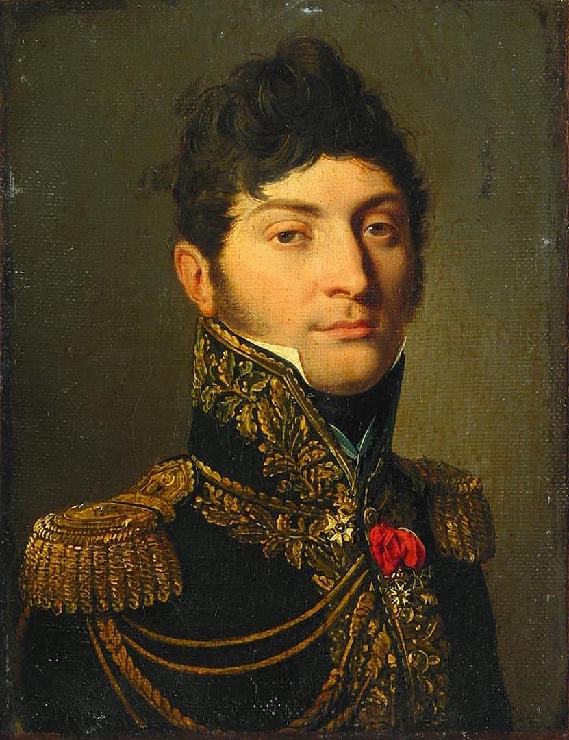 Louis-Leopold Boi. Portrait of Duroc, Count of Friul