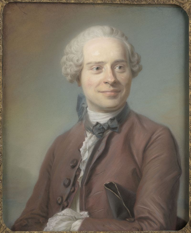 Морис Кантен де Латур. Жан Лерон д'Аламбер