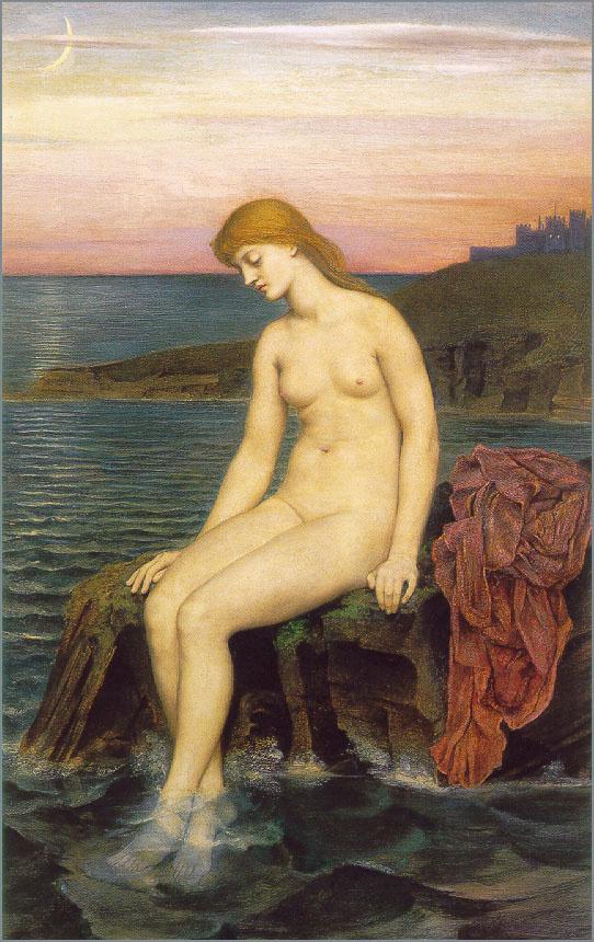 Эвелин де Морган. Сидя у моря